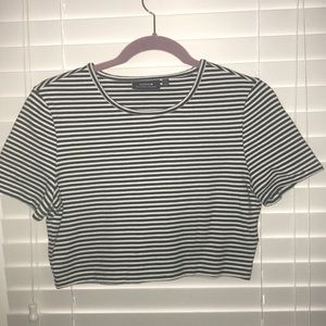 Kate Spade Saturday cotton crop top sz small